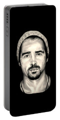 Colin Farrell  Total Recall Portable Battery Charger by Fred Larucci