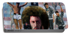 Colin Kaepernick Amongst The Brave Few 2a Portable Battery Charger