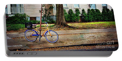 Portable Battery Charger featuring the photograph Coliseum-washington Bicycle by Craig J Satterlee