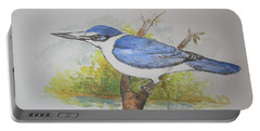 Collared Kingfisher Portable Battery Charger