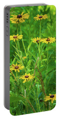 Portable Battery Charger featuring the photograph Collection In The Clearing by Bill Pevlor
