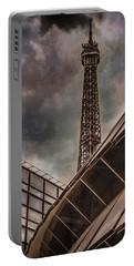 Paris, France - Colliding Grids Portable Battery Charger