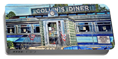 Collin's Diner New Canaan,conn Portable Battery Charger