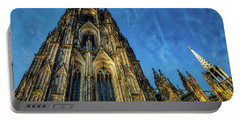 Cologne Cathedral Afternoon Portable Battery Charger