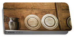 Colonial Dinnerware Portable Battery Charger
