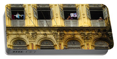 Colonial Facade Bo Soon Pat Street 8th Ward Central Yangon Burma Portable Battery Charger