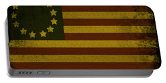 Colonial Flag Portable Battery Charger by Bill Cannon