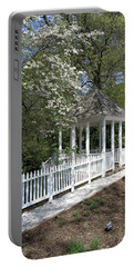 Portable Battery Charger featuring the photograph Colonial Springtime by Liza Eckardt