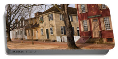 Colonial Street Scene Portable Battery Charger