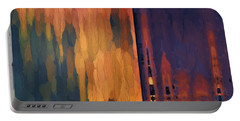 Color Abstraction Liv Portable Battery Charger