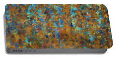 Color Abstraction Lxxiv Portable Battery Charger