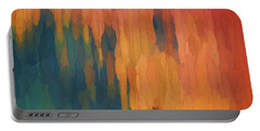 Color Abstraction Xlix Portable Battery Charger