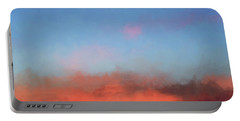 Color Abstraction Xlvii - Sunset Portable Battery Charger