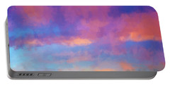 Color Abstraction Xlviii - Sunset Portable Battery Charger
