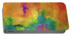Color Abstraction Xxxiv Portable Battery Charger