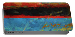 Color Abstraction Xxxix Portable Battery Charger