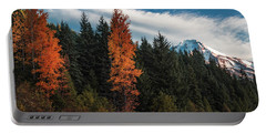 Portable Battery Charger featuring the photograph Color At Mt. Hood by Hans Franchesco