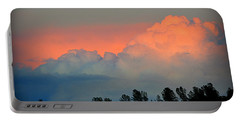 Portable Battery Charger featuring the photograph Color Burst by AJ Schibig