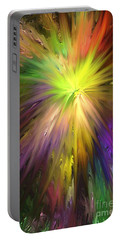 Color Burst Portable Battery Charger by Greg Moores