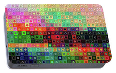 Portable Battery Charger featuring the digital art Color Coded by Wendy J St Christopher