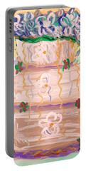 Color In A Wedding Cake Portable Battery Charger
