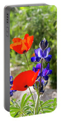 Portable Battery Charger featuring the photograph Color Mix 02 by Arik Baltinester