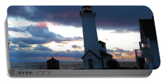 Color Of December, Tibbetts Point Lighthouse Portable Battery Charger