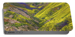 Portable Battery Charger featuring the photograph Color Valley by Peter Tellone