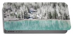 Colorado Aqua Woodland Forest Landscape Portable Battery Charger by Andrea Hazel Ihlefeld