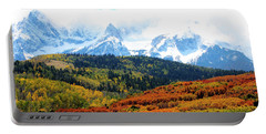 Colorado Autumn 2016 San Juan Mountains  Portable Battery Charger
