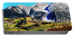 Colorado Autumn 2016 West Elk Mountains Portable Battery Charger