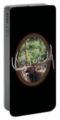 Colorado Bull Elk Portable Battery Charger