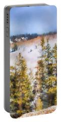 Colorado Color Splash 1 Landscape Art By Jai Johnson Portable Battery Charger