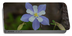 Colorado Columbine Flower Portable Battery Charger by John Roberts