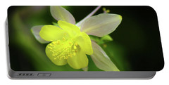 Portable Battery Charger featuring the photograph Colorado Columbine by Marie Leslie