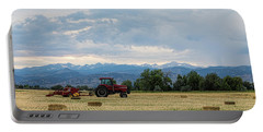 Portable Battery Charger featuring the photograph Colorado Country by James BO Insogna