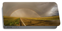 Colorado Double Rainbow Portable Battery Charger