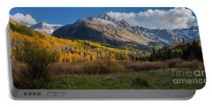 Portable Battery Charger featuring the photograph Colorado Fall by Steven Reed
