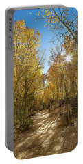 Portable Battery Charger featuring the photograph Colorado Gold by Tim Stanley