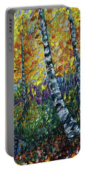 Glimpses Of Colorado Fall Colors Portable Battery Charger