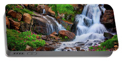 Colorado Mountain Stream, Indian Peaks Wilderness Portable Battery Charger