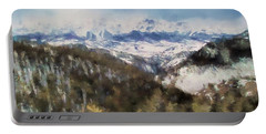 Colorado Mountains 4 Landscape Art By Jai Johnson Portable Battery Charger by Jai Johnson