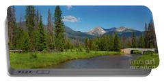 Colorado River And Kawuneeche Valley Portable Battery Charger