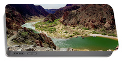 Colorado River Around Boat Beach Portable Battery Charger