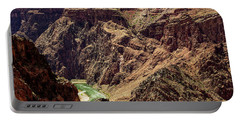 Colorado River From The South Kaibab Trail Portable Battery Charger