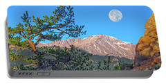 Colorado Rocky Mountain High, Just A Breath Away From Heaven Portable Battery Charger