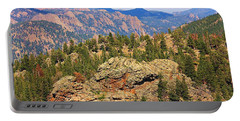 Portable Battery Charger featuring the photograph Colorado Rocky Mountains by Sheila Brown