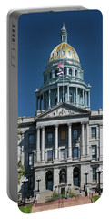 Colorado State Capitol Portable Battery Charger