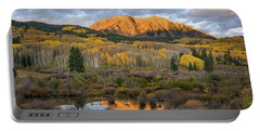 Portable Battery Charger featuring the photograph Colorado Sunrise by Phyllis Peterson