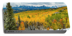 Colorado Valley Of Autumn Color Portable Battery Charger